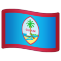 Flag: Guam on WhatsApp 2.19.244