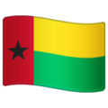 Flag: Guinea-Bissau on WhatsApp 2.19.244