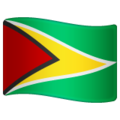 Flag: Guyana on WhatsApp 2.19.244