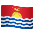 Flag: Kiribati on WhatsApp 2.19.244