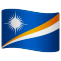Flag: Marshall Islands on WhatsApp 2.19.244