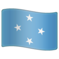 Flag: Micronesia on WhatsApp 2.19.244