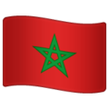Flag: Morocco on WhatsApp 2.19.244