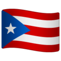 Flag: Puerto Rico on WhatsApp 2.19.244
