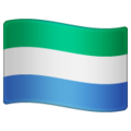 Flag: Sierra Leone on WhatsApp 2.19.244