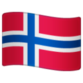 Flag: Svalbard & Jan Mayen on WhatsApp 2.19.244