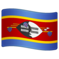Flag: Eswatini on WhatsApp 2.19.244
