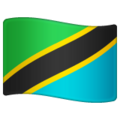 Flag: Tanzania on WhatsApp 2.19.244