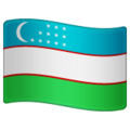 Flag: Uzbekistan on WhatsApp 2.19.244