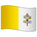 Flag: Vatican City on WhatsApp 2.19.244