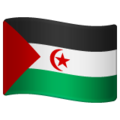 Flag: Western Sahara on WhatsApp 2.19.244