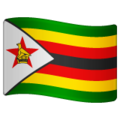 Flag: Zimbabwe on WhatsApp 2.19.244
