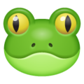 Frog Face on WhatsApp 2.19.244