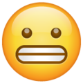 Grimacing Face on WhatsApp 2.19.244