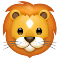 Lion Face on WhatsApp 2.19.244