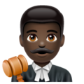 Man Judge: Dark Skin Tone on WhatsApp 2.19.244