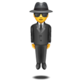Man in Suit Levitating on WhatsApp 2.19.244