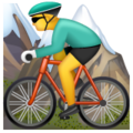 Person Mountain Biking on WhatsApp 2.19.244