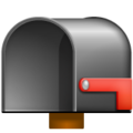 Open Mailbox With Lowered Flag on WhatsApp 2.19.244