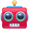 Robot Face on WhatsApp 2.19.244