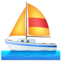 Sailboat on WhatsApp 2.19.244