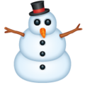 Snowman Without Snow on WhatsApp 2.19.244