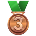 3rd Place Medal on WhatsApp 2.19.244