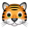Tiger Face on WhatsApp 2.19.244