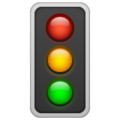 Vertical Traffic Light on WhatsApp 2.19.244
