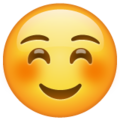 Smiling Face on WhatsApp 2.19.244