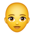 Woman: Bald on WhatsApp 2.19.244