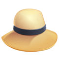 Woman's Hat on WhatsApp 2.19.244