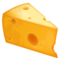 Cheese Wedge on WhatsApp 2.19.352