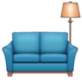 Couch and Lamp on WhatsApp 2.19.352