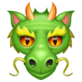 Dragon Face on WhatsApp 2.19.352