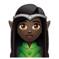 Elf: Dark Skin Tone on WhatsApp 2.19.352