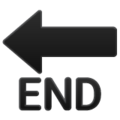 End Arrow on WhatsApp 2.19.352