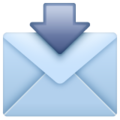 Envelope with Arrow on WhatsApp 2.19.352