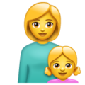 Family: Woman, Girl on WhatsApp 2.19.352