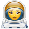 Woman Astronaut on WhatsApp 2.19.352