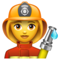 Woman Firefighter on WhatsApp 2.19.352