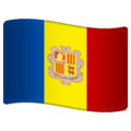 Flag: Andorra on WhatsApp 2.19.352