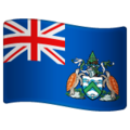 Flag: Ascension Island on WhatsApp 2.19.352