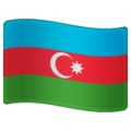 Flag: Azerbaijan on WhatsApp 2.19.352
