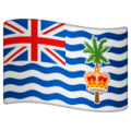 Flag: British Indian Ocean Territory on WhatsApp 2.19.352