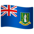 Flag: British Virgin Islands on WhatsApp 2.19.352