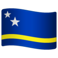 Flag: Curaçao on WhatsApp 2.19.352