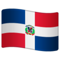 Flag: Dominican Republic on WhatsApp 2.19.352