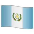 Flag: Guatemala on WhatsApp 2.19.352