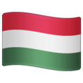 Flag: Hungary on WhatsApp 2.19.352